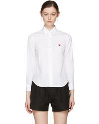 Chemise blanche Comme des Garcons