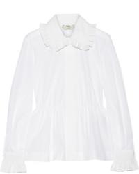 Chemise blanche Fendi