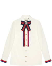 Chemise blanche Gucci