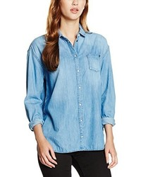 Chemise bleu clair Pepe Jeans
