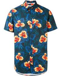 Chemise bleu marine adidas