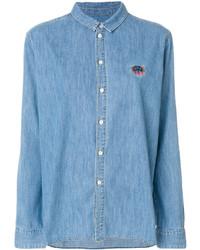 Chemise bleue Kenzo