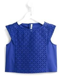 Chemise bleue Simonetta