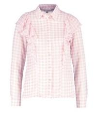 Chemise de ville à carreaux rose Miss Selfridge
