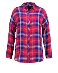 Chemise de ville à carreaux rouge Wrangler