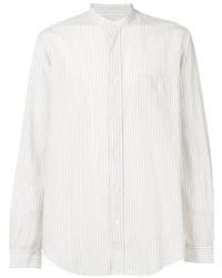 Chemise de ville à rayures verticales blanche President'S