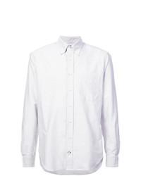 Chemise de ville à rayures verticales grise Gitman Vintage