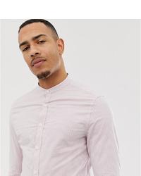 Chemise de ville à rayures verticales rose ASOS DESIGN