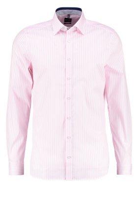 Chemise de ville à rayures verticales rose Olymp