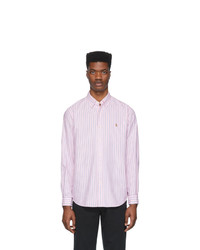 Chemise de ville à rayures verticales rose Polo Ralph Lauren