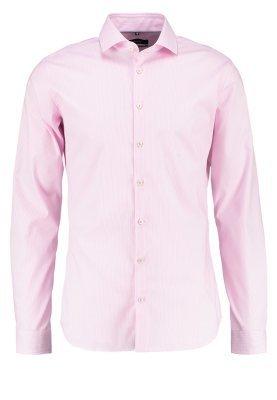 Chemise de ville à rayures verticales rose Seidensticker