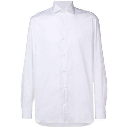Chemise de ville blanche Borrelli