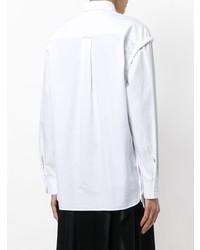 Chemise de ville blanche Cédric Charlier