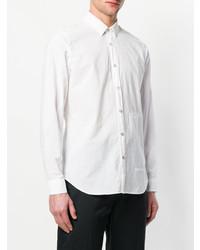 Chemise de ville blanche Dnl