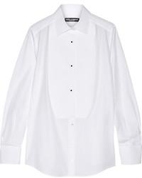 Chemise de ville blanche Dolce & Gabbana