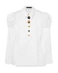 Chemise de ville blanche Ellery