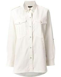 Chemise de ville blanche Isabel Marant