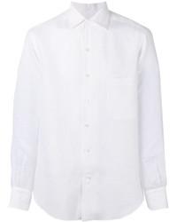 Chemise de ville blanche Loro Piana