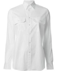 Chemise de ville blanche Ralph Lauren