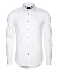 Chemise de ville blanche Sisley