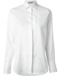 Chemise de ville blanche Valentino