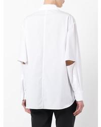 Chemise de ville blanche Yohji Yamamoto
