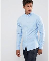 Chemise de ville bleu clair Asos
