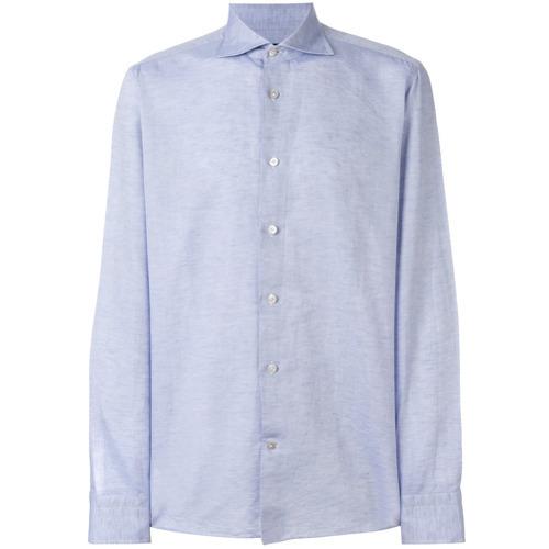 Chemise de ville bleu clair Borriello