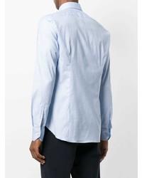 Chemise de ville bleu clair Xacus