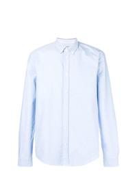Chemise de ville bleu clair Dondup