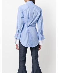 Chemise de ville bleu clair Eudon Choi
