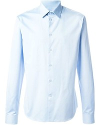 Chemise de ville bleu clair Givenchy
