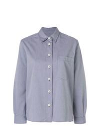 Chemise de ville bleu clair Margaret Howell