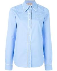 Chemise de ville bleu clair No.21