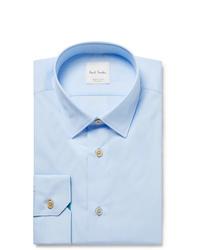 Chemise de ville bleu clair Paul Smith