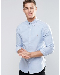 Chemise de ville bleu clair Polo Ralph Lauren