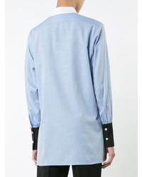 Chemise de ville bleu clair Rachel Comey