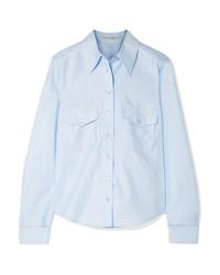 Chemise de ville bleu clair Stella McCartney