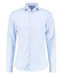 Chemise de ville bleue claire Eton