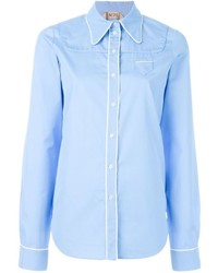 Chemise de ville bleue claire No.21