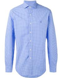 Chemise de ville bleue claire Polo Ralph Lauren