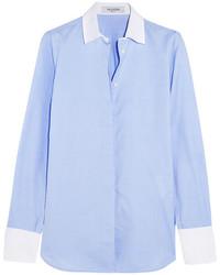 Chemise de ville bleue claire Valentino