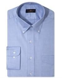 Chemise de ville bleue