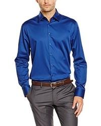 Chemise de ville bleue Jacques Britt