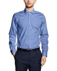 Chemise de ville bleue Strellson Premium