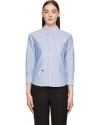 Chemise de ville en chambray bleu clair Band Of Outsiders
