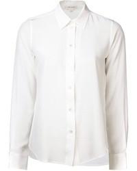Chemise de ville en soie blanche Marc Jacobs
