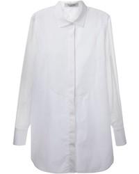 Chemise de ville en soie blanche Valentino