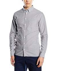 Chemise de ville grise CASUAL FRIDAY
