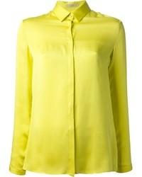 Chemise de ville jaune Etro